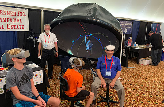 Starlight Productions Brings E&S to the 46th Space Conference