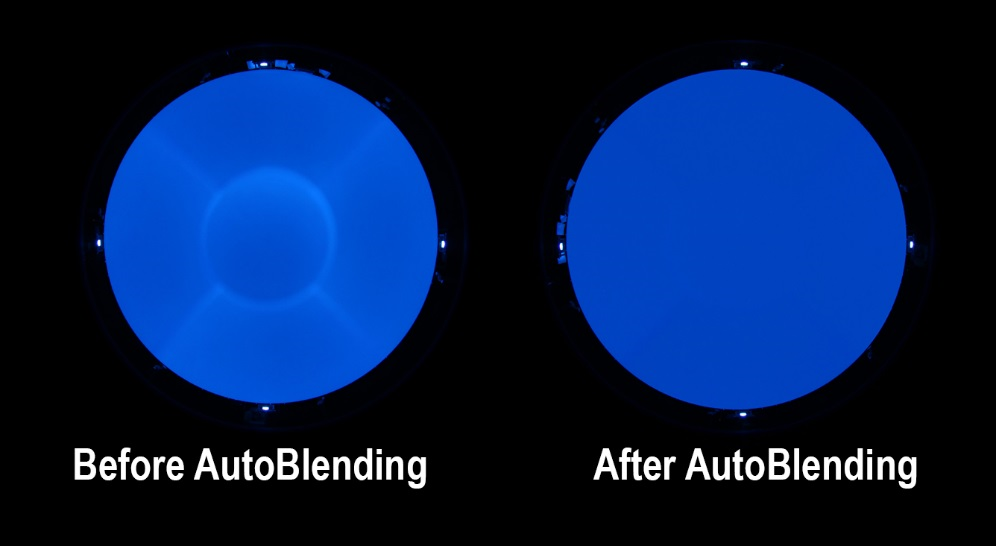 Photos of Digistar AutoBlend feature