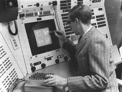 Ivan Sutherland with Sketchpad