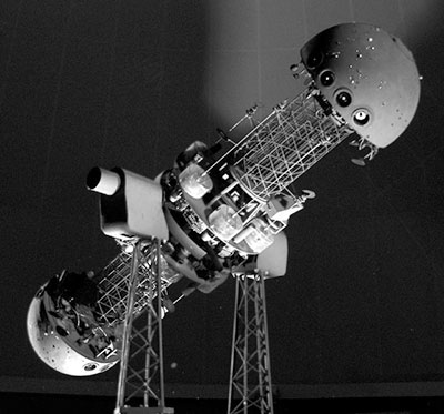Spitz Space Transit Planetarium projector