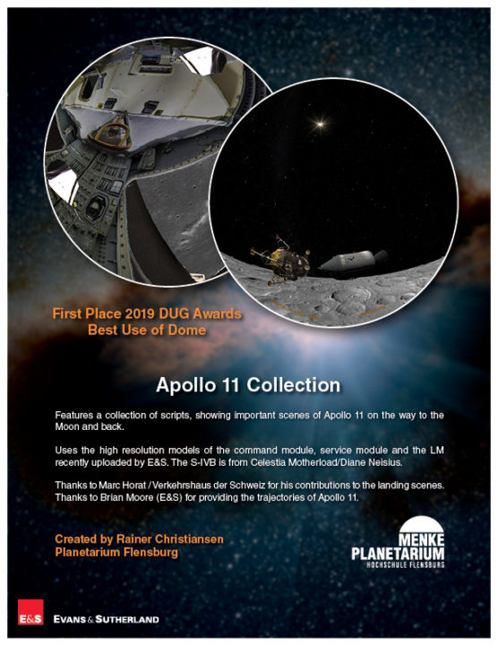 "Cloud Content - ""Apollo 11 Collection"" - Menke Planetarium"