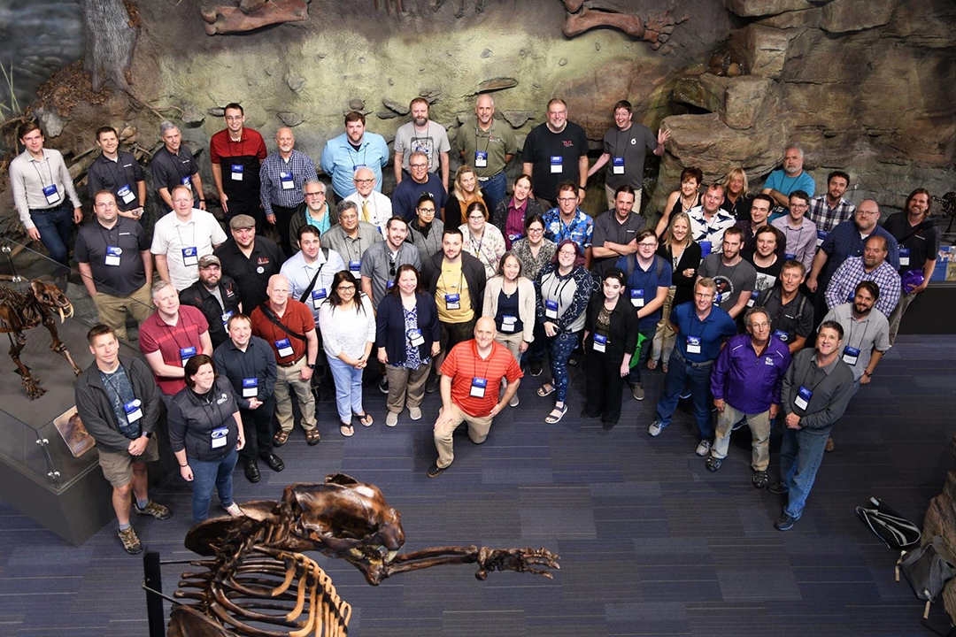 Group photo from Digistar Users Group 2019 Annual Meeting