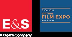 E&S and GSCA Film Expo 2021 logos
