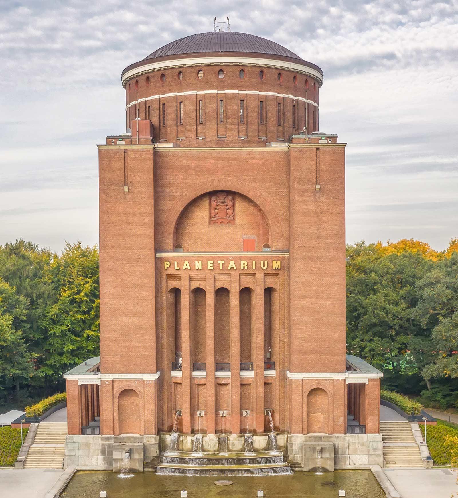 Hamburg Planetarium exterior