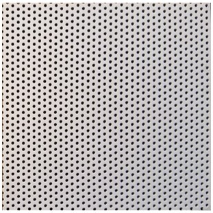 Spitz dome panel with micro perforation schedule
