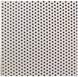 Spitz Dome panel with standard perforation schedule