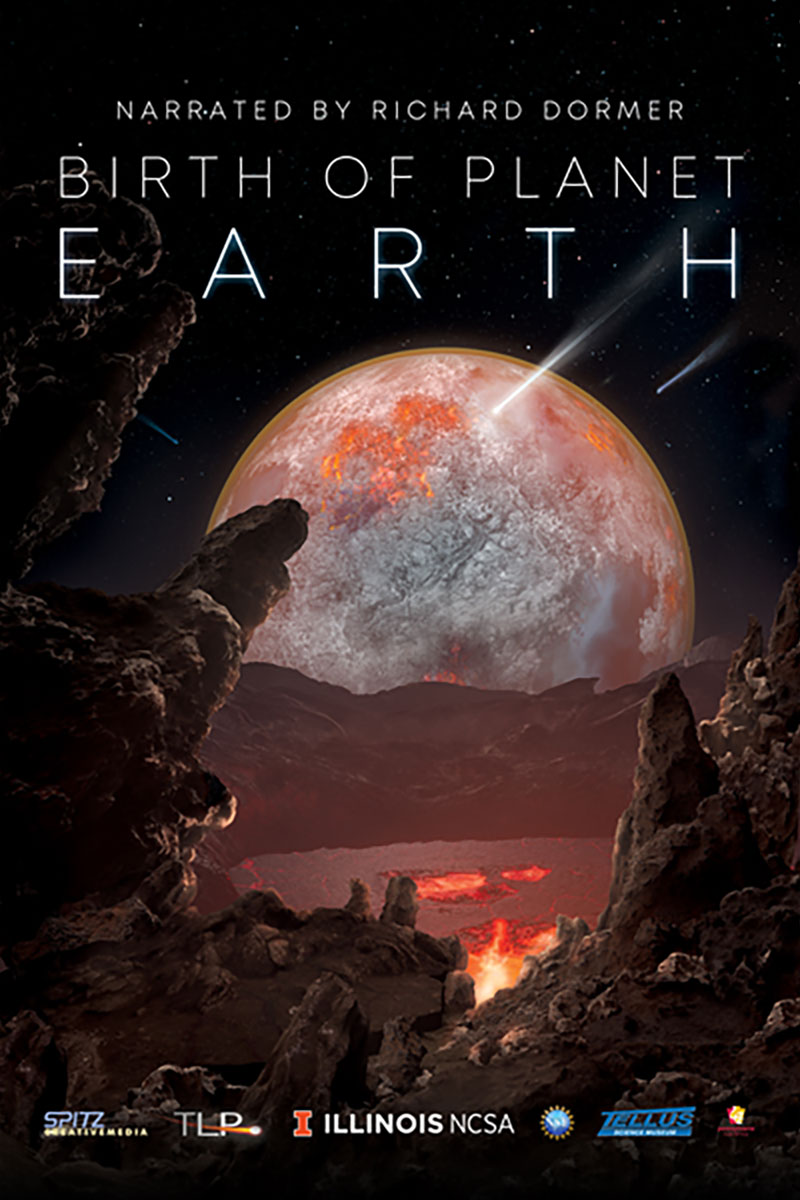 Birth of Planet Earth show poster