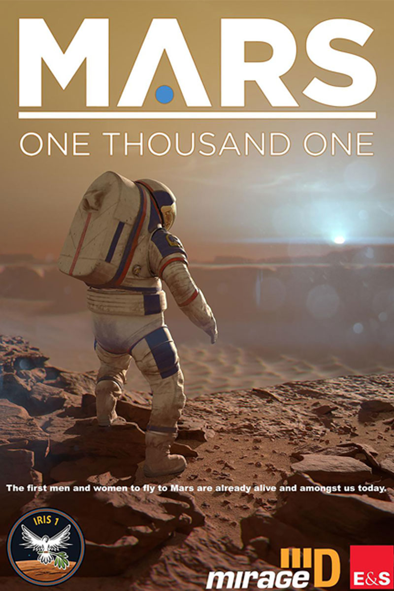 Mars One Thousand One show poster